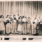 The live music of the Merry Go Round show was broadcast from the Pick Theatre in Mount Airy every Saturday in the early 1950s.