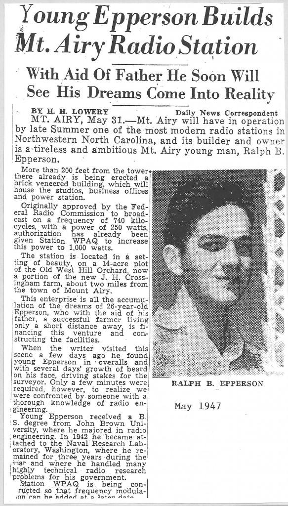 Ralph Dreamer article